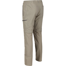 Regatta Highton Stretch Zip-Off Trousers Men parchment